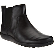 As Is Clarks Collection Nubuck Leather Chelsea Boots - Medora Grace - A288990