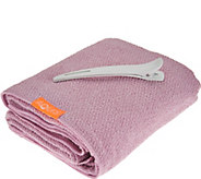 Aquis Lisse Luxe Hair Drying Towel and Hair Clip - A298090