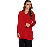 Every Day by Susan Graver Liquid Knit Cardigan and Tank Set - A298490