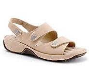 SoftWalk Adjustable Strap Leather Sandals - A316890