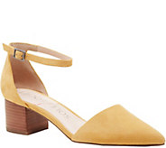 Sole Society Two Piece Block Heels - Katarina - A355290