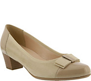 Spring Step Suede and Leather Pumps - Faith - A357090