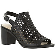 Easy Street Block Heel Sandals - Erin - A357190