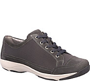 Dansko Lace Up Leather and Mesh Sneakers - Harmony - A360690