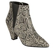 Aerosoles Heel Rest Pointed Toe Ankle Boots - Rock On - A362390