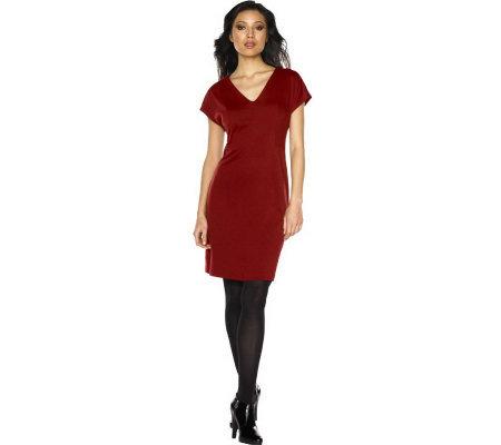 Deep V Neck Cocktail Dress 23