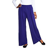 Bob Mackies Wide Leg Knit Pants Regular or Petite - /A74191