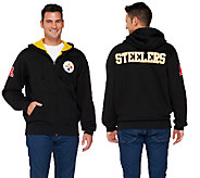 NFL Team Colors Fully Lined Sherpa Zip Up Hoodie - A255691