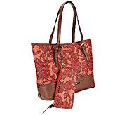 Liz Claiborne New York Paisley Print Tote Bag - A256691