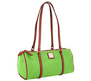 Dooney & Bourke Lambskin Barrel Bag - A264491