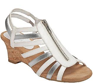 Aerosoles Comfort Wedge Sandals - Half Dozen
