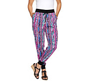 Whitney Port Pull-On Jogger Pants with Pockets - A267191