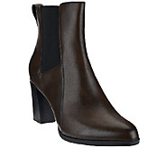 Clarks_Artisan Leather Pull-on Booties with Goring - Kadri Liana - A269091