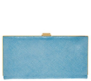 LODIS Italian Leather Frame Clutch w/ RFID - Quinn - A277891