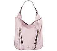 As Is orYANY Soft Nappa Leather Hobo - Lexi - A283991