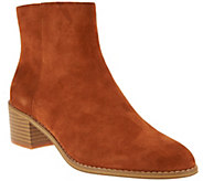 As Is Clarks Somerset Block Heel Boots - Breccan Myth - A288991