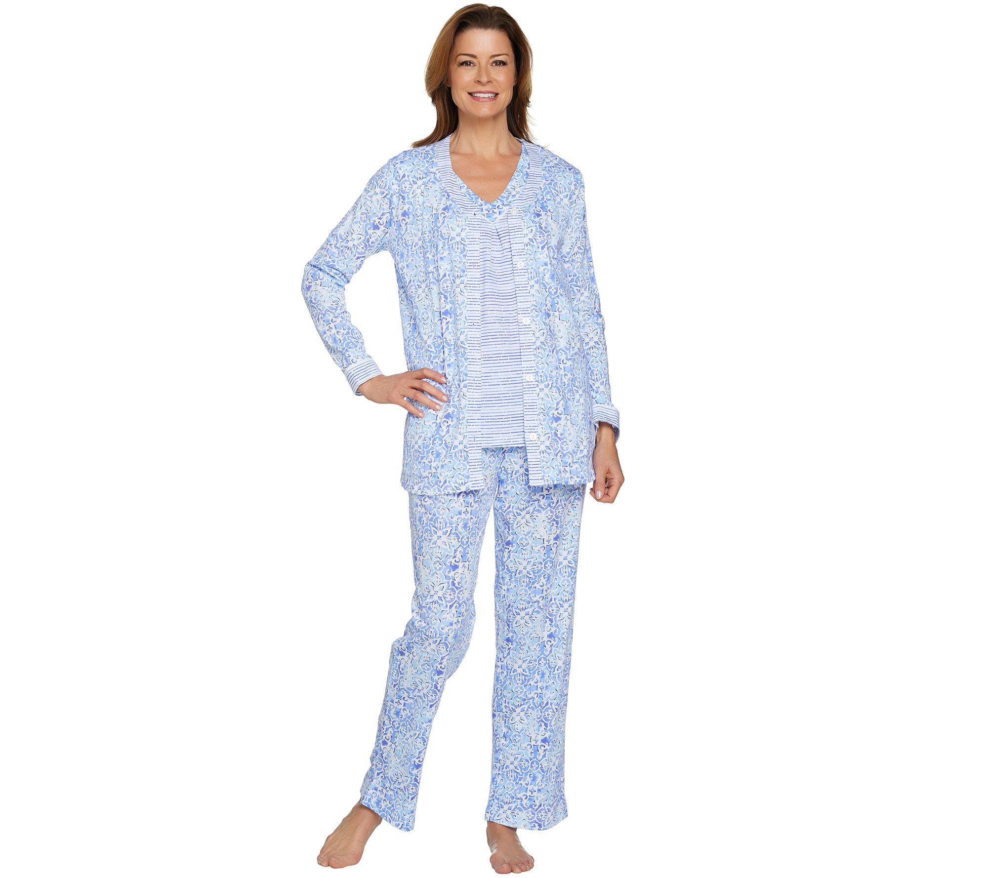 Petite womens pajamas breeze clothing for Women s flannel sleep shirt