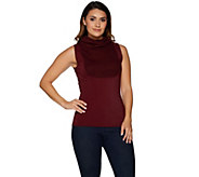 Kathleen Kirkwood Dictrac-Ease Rib Cowl Neck Camisole - A294591