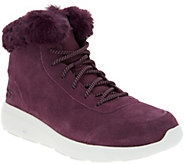 As Is Skechers On-the -GO Suede Boots -City 2- Chilled - A308491