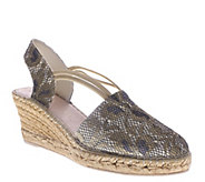 Azura by Spring Step Wedge Espadrille Sandals -Ixora - A336391