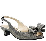 J. Renee Low Heel Slingback Sandals - Landan - A364291