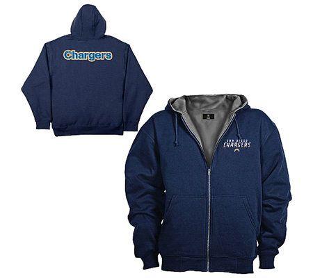Nfl San Diego Chargers Craftsman Men S Jacket Qvc Com