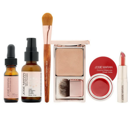 Josie Maran Argan Bright & Beautiful 6-pc. Natural Beauty Collection