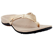 Vionic Orthotic Thong Sandals - Carolyn - A251392