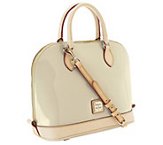 Dooney & Bourke Patent Leather Zip Zip Satchel - A252392