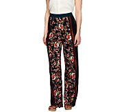 George Simonton Regular Printed Milky Knit Wide Leg Pants - A253192