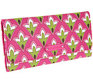 Vera Bradley Faux Leather Tri-Fold Wallet - A259292