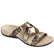 Vionic w/ Orthaheel Triple Strap Slide Sandals - Kira - A264892