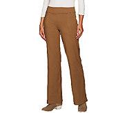 Women with Control Regular Contour Waist Boot Cut Pants - A267392