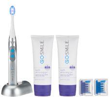 Go Smile Sonic Blue LED Teeth Whitening Toothbrush