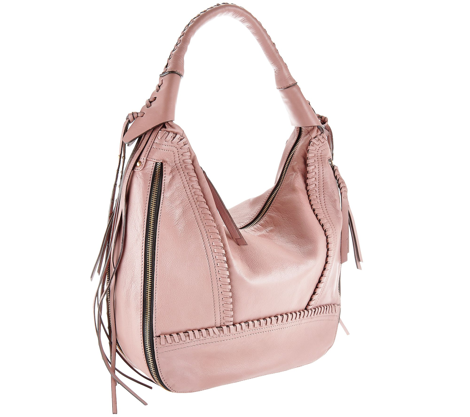 Oryany Soft Nappa Leather Hobo Michelle Page 1 Qvc Com