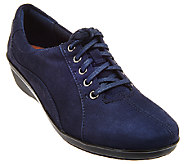 Clarks Nubuck Lace-up Shoes - Everylay Elma - A276892