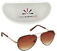 Isaac Mizrahi Live! Aviator Sunglasses - A277192