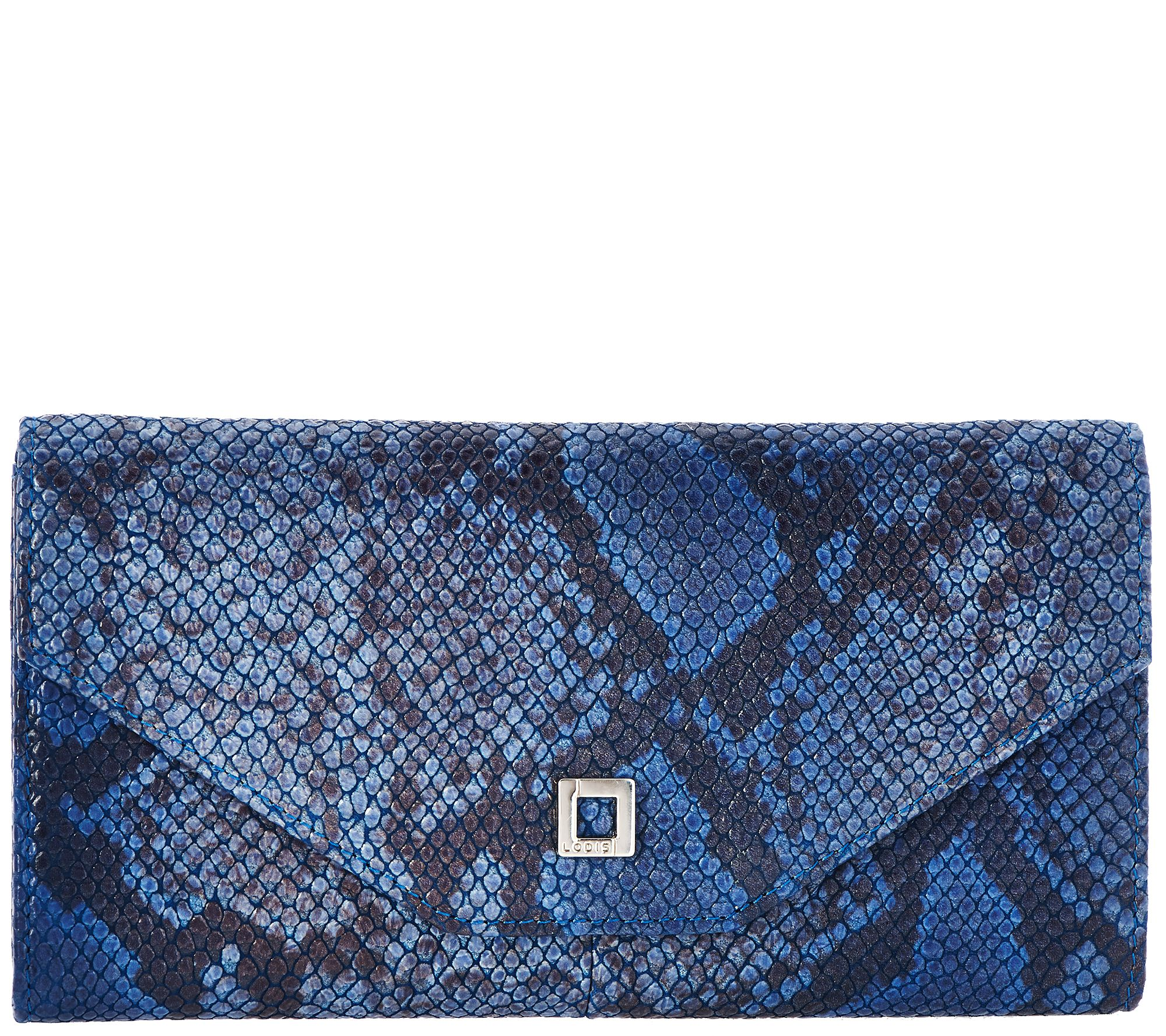 LODIS Italian Leather RFID Envelope Wallet - Alex - A277892 — QVC.com