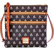 Dooney & Bourke MLB Orioles Triple Zip Crossbody - A279992