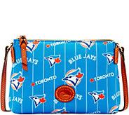 Dooney & Bourke MLB Nylon Blue Jays Crossbody Pouchette - A281592