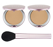 Mally Supersize Poreless Foundation Duo w/ Mega Brush - A281792