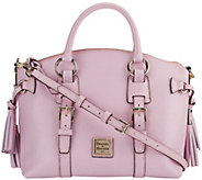 As Is Dooney & Bourke Saffiano Leather Domed Satchel - A285192