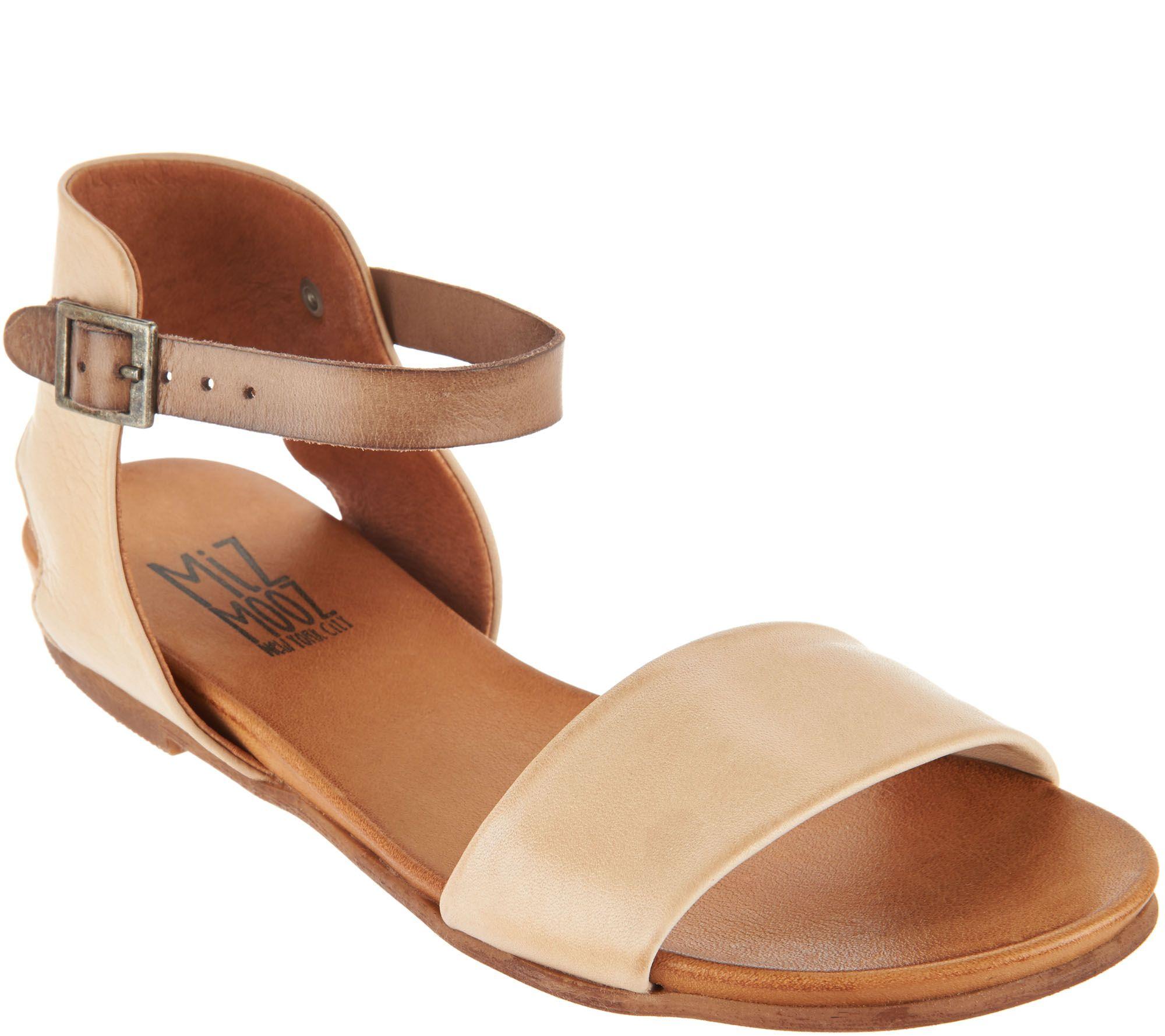 Miz Mooz Leather Ankle Strap Sandals Alanis Page 1