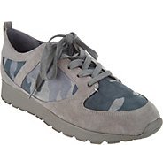 G.I.L.I. Lace-up Camo Sneakers - Janna - A296492