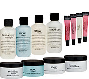 philosophy winter wonderland 12-piece gifting set - A298292