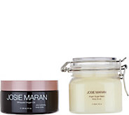Josie Maran Whipped Argan Body Butter & Sugar Scrub Duo in Lemon - A298692