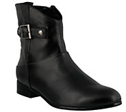 Spring Step Leather Booties - Dail - A355892