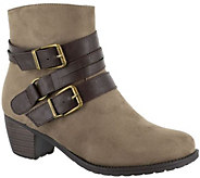Easy Street Side Zip Ankle Boots - Coby - A360592