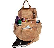 Earth Cork Horta Backpack - Khaki - A361492