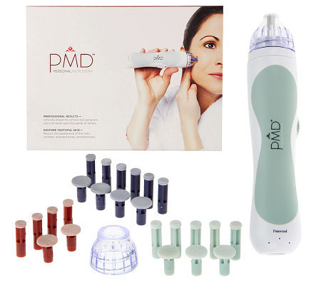 PMD Personal Microderm Device & 25 Replacement Discs